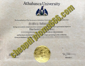 fake Athabasca University diploma