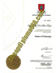 buy Australian Catholic University degree certificate