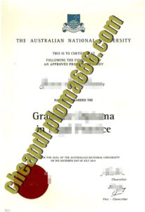 buy Australian National University degree certificate