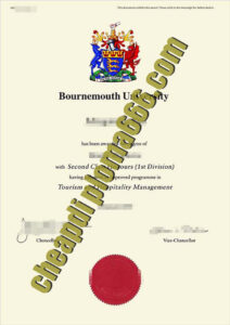 fake Bournemouth University degree certificate