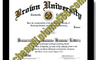 buy Brown University degree certificate