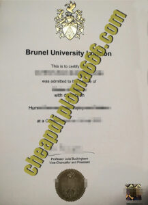 buy Brunel University degree certificate