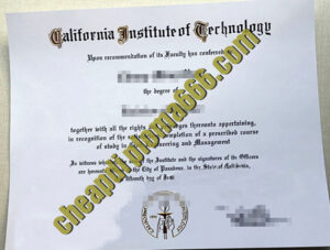 buy California Institute of Technology degree certificate