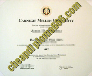 buy Carnegie Mellon University degree certificate