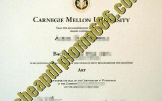 buy Carnegie Mellon University degree certificate