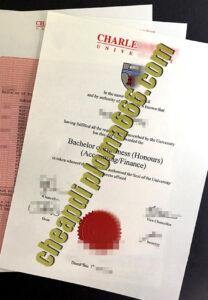buy Charles Sturt University diploma
