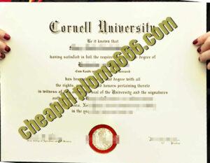 buy Cornell University degree certificate