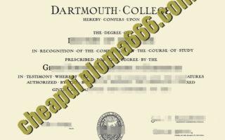 buy Dartmouth College degree certificate