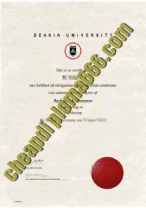 buy Deakin University degree certificate