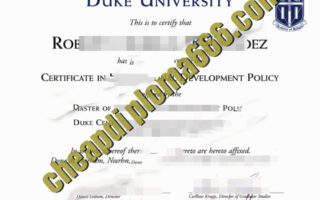 buy Duke University degree certificate