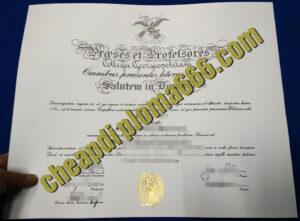 fake Georgetown University degree