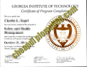buy Georgia Institute of Technology degree
