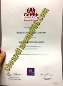fake Griffith University diploma