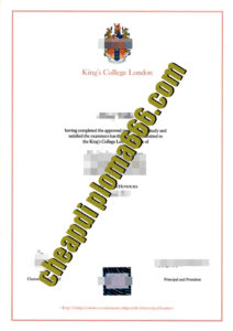 buy King's College London degree certificate