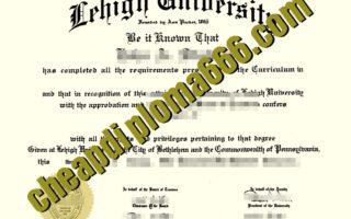 buy Lehigh University diploma
