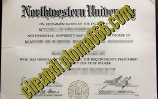 Northwestern University fake diploma