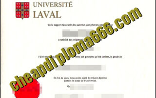 Université Laval fake degree