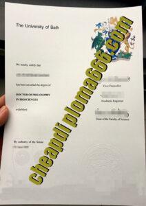 buy University of Bath degree certificate