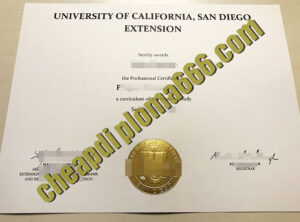 buy University of California, San Diego degree certificate