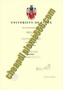 buy University of Essex degree certificate