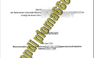 University of Munich degree