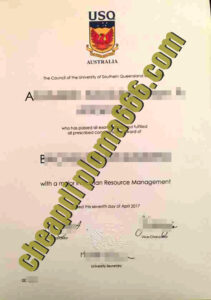 fake University of Southern Queensland diploma