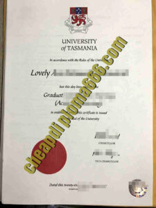 buy University of Tasmania degree certificate