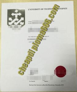 University of Technology Sydney fake degree certificate