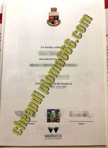 buy University of Warwick degree certificate