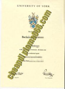 buy University of York degree certificate