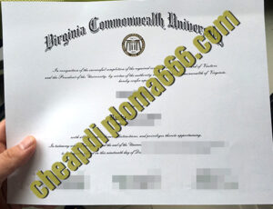 buy Virginia Commonwealth University degree certificate