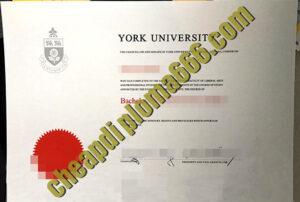 buy York University degree certificate