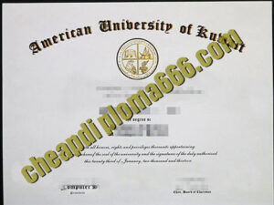 buy American University of Kuwait degree certificate