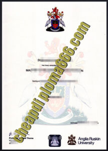 buy Anglia Ruskin University diploma