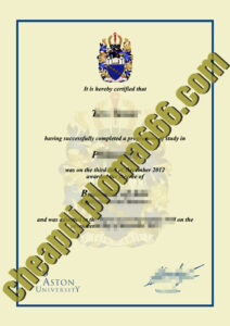 buy Aston University degree certificate