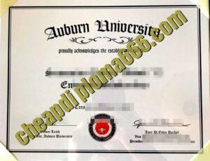 buy Auburn University degree certificate