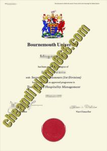 buy Bournemouth-University degree certificate
