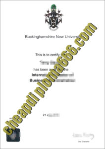 buy Buckinghamshire New University degree certificate