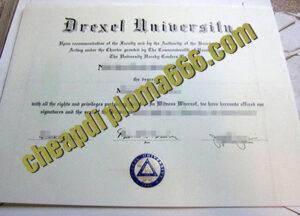 buy Drexel University degree certificate