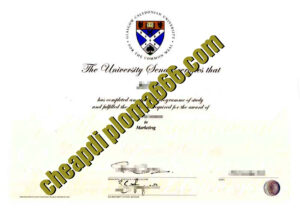 buy Glasgow Caledonian University degree certificate