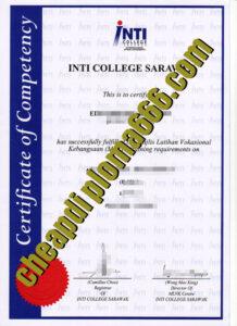 buy INTI College Sarawak transcript