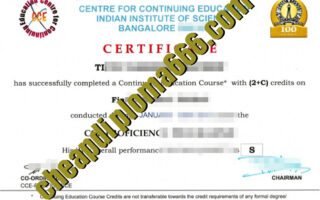 buy Indian Institute of Science degree certificate