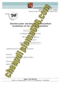 buy Johannes Kepler University degree certificate