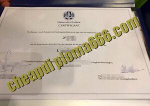 buy Leiden University degree certificate