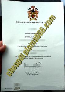 buy Manchester Metropolitan University degree certificate