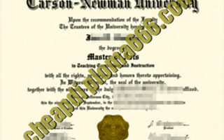 buy Newman University degree certificate