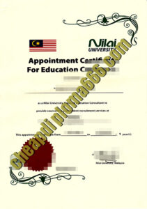 buy Nilai University degree certificate