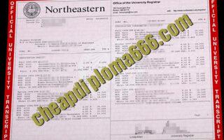 buy Northeastern University transcript