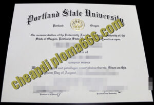 buy Portland State University degree