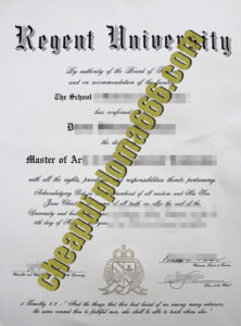 buy Regent University degree certificate